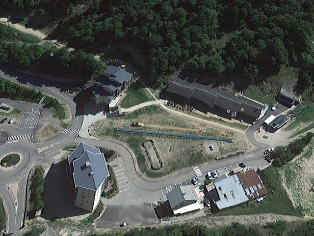 Col de Rousset sur Google-earth.